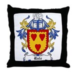 Rule Coat of Arms Throw Pillow