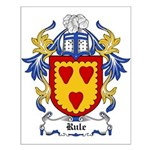 Rule Coat of Arms Small Poster