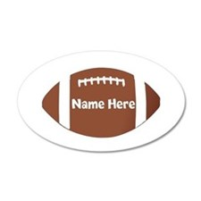 Personalized Football Decal Wall Sticker