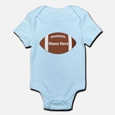 Personalized Football Onesie