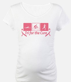 Tri For The Cure (Breast Cancer) Shirt