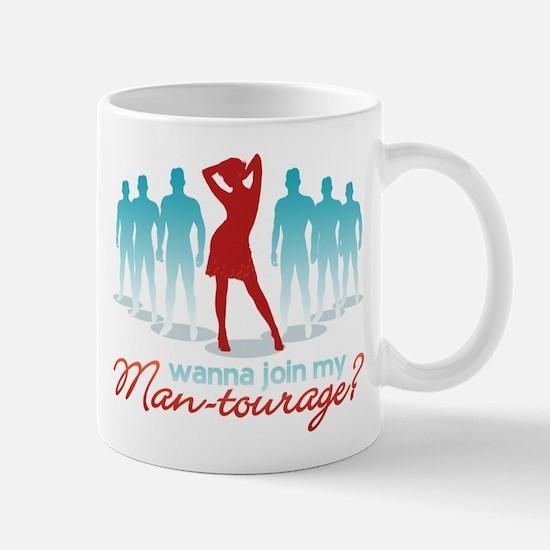 """""""Man-Tourage"""" Mug"""