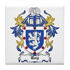Roy Coat of Arms Tile Coaster
