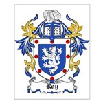 Roy Coat of Arms Small Poster