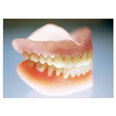 False teeth Poster