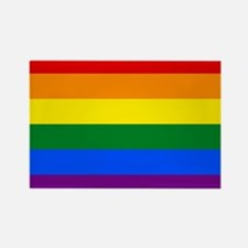 Gay Pride Rectangle Magnet (10 pack)