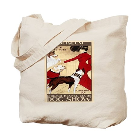 Vintage Dog Show Tote Bag