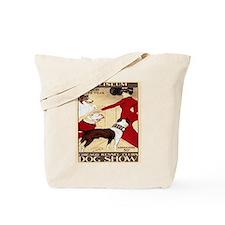 Vintage Dog Show Tote Bag