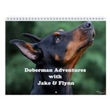 Doberman pinscher Wall Calendars