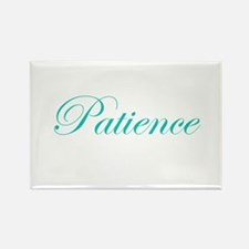 Patience Rectangle Magnet