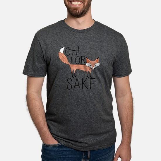Oh! For Fox Sake Mens Tri-blend T-Shirt