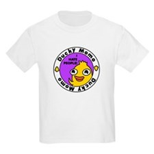 Ducky Momo Hates People! T-Shirt