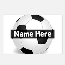 Personalized Soccer Ball Postcards (Package of 8)