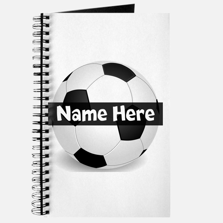 Personalized Soccer Ball Journal