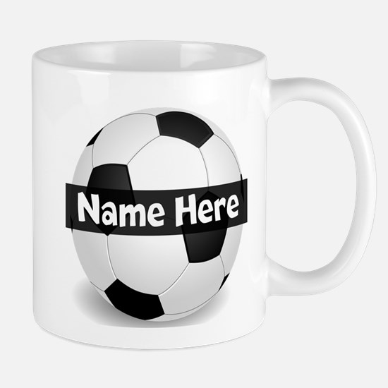 Personalized Soccer Ball Mug