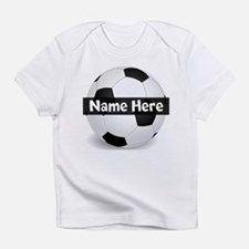 Personalized Soccer Ball Infant T-Shirt