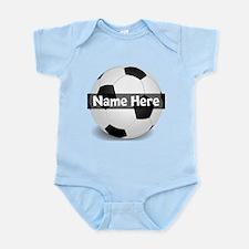 Personalized Soccer Ball Infant Bodysuit