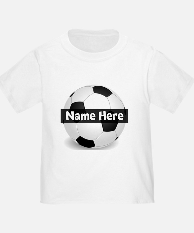 Personalized Soccer Ball T