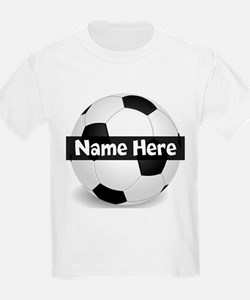 Personalized Soccer Ball T-Shirt
