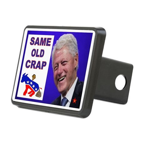 TAX HELL Rectangular Hitch Cover
