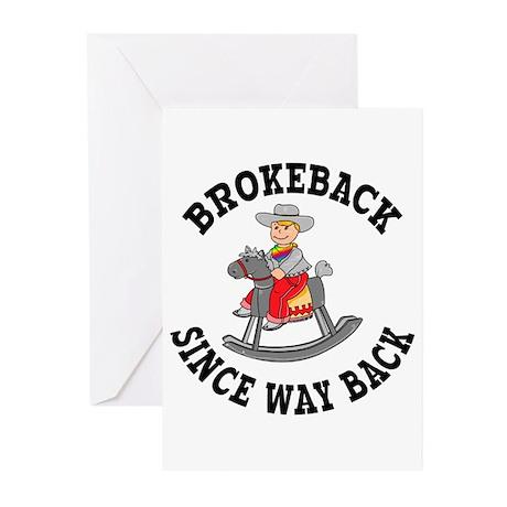 Brokeback Since Way Back Greeting Cards (10 Pk)