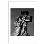 Cemetery sculpture Large Poster