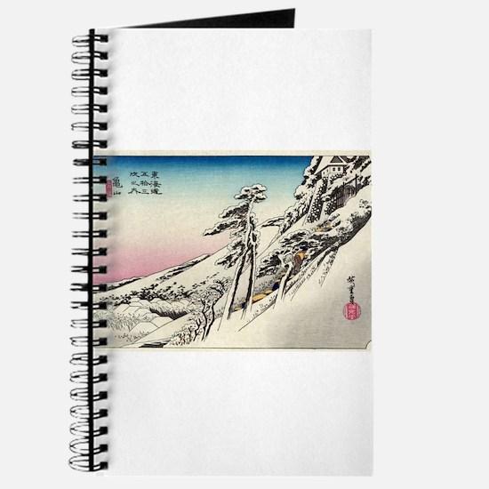 Kameyama - Hiroshige Ando - 1833 Journal