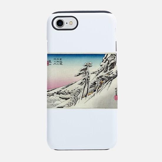 Kameyama - Hiroshige Ando - 1833 iPhone 7 Tough Ca