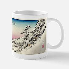Kameyama - Hiroshige Ando - 1833 Mugs