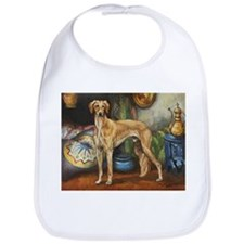 Saluki in the Tent Bib