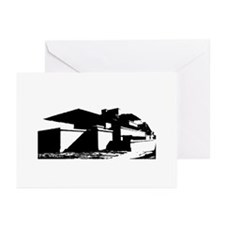 Frank L. Wright Robie House Greeting Cards -10 Pk