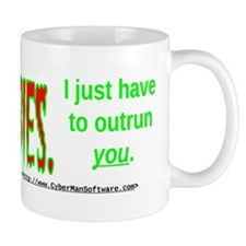 Outrun The Zombies Mug
