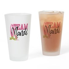 team mandi 0319c.jpg Drinking Glass