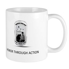 Honor through action logo Mug