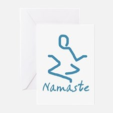 Namaste Abstract Greeting Cards (Pk of 10)