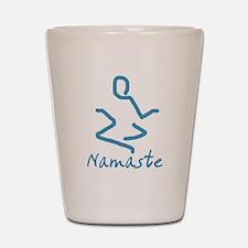 Namaste Abstract Shot Glass
