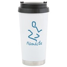 Namaste Abstract Travel Mug