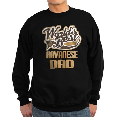 Havanese Dad Sweatshirt (dark)