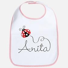 Ladybug Anita Bib
