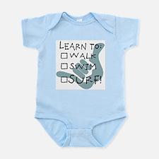 leanr to surf1.jpg Infant Bodysuit