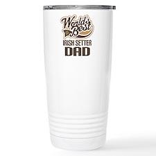 Irish Setter Dad Travel Mug