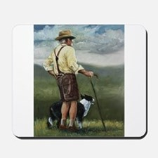 Sheep Herder Mousepad