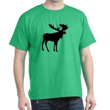 Black Moose T-Shirt