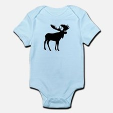 Black Moose Infant Bodysuit