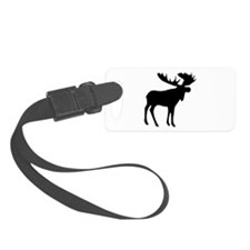 Black Moose Luggage Tag