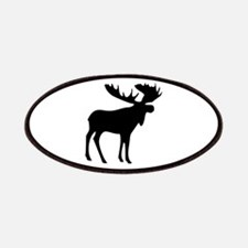 Black Moose Patches