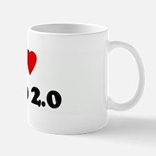 I Love Web 2.0 Mug