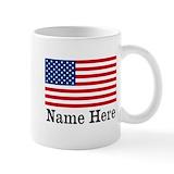 American flag Standard Mugs (11 Oz)