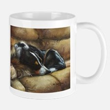Border Collie on Couch Mug