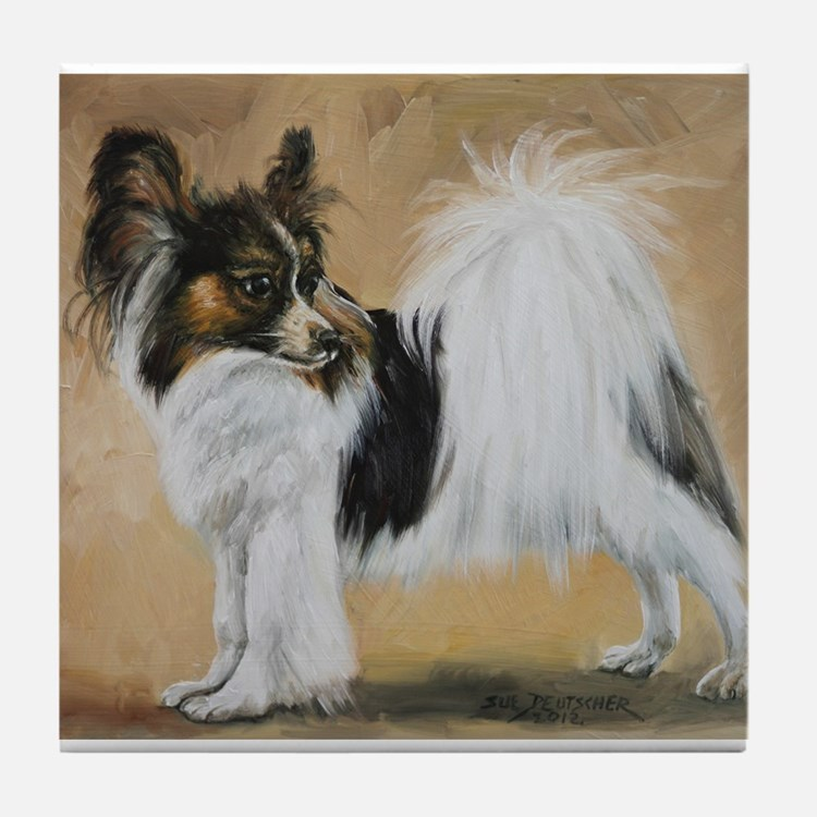 Papillon Tile Coaster